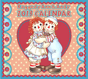 アン&アンディ2013年度壁掛けカレンダー