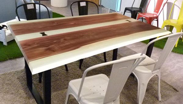 姫路家具 兵庫県家具 家具センタームラセ  杉材 150食卓テーブル