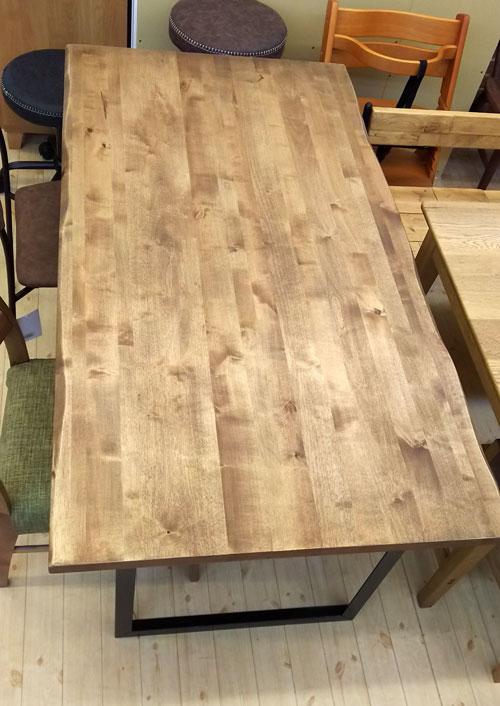 姫路家具 兵庫県家具 家具センタームラセ  ビーチ材 150食卓テーブル レーノ