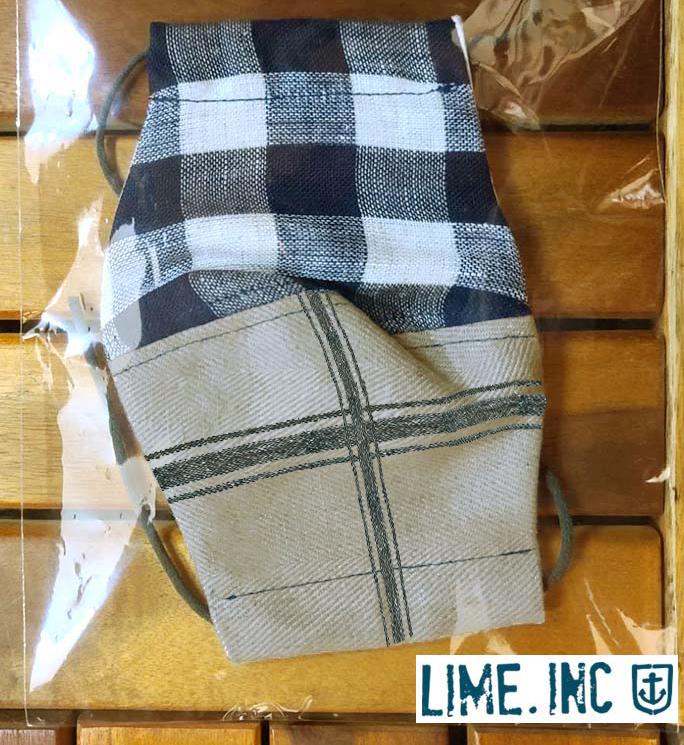 数量限定、Lime.inc(ライム)さんのお洒落な立体布マスク お得なキット販売 日本製